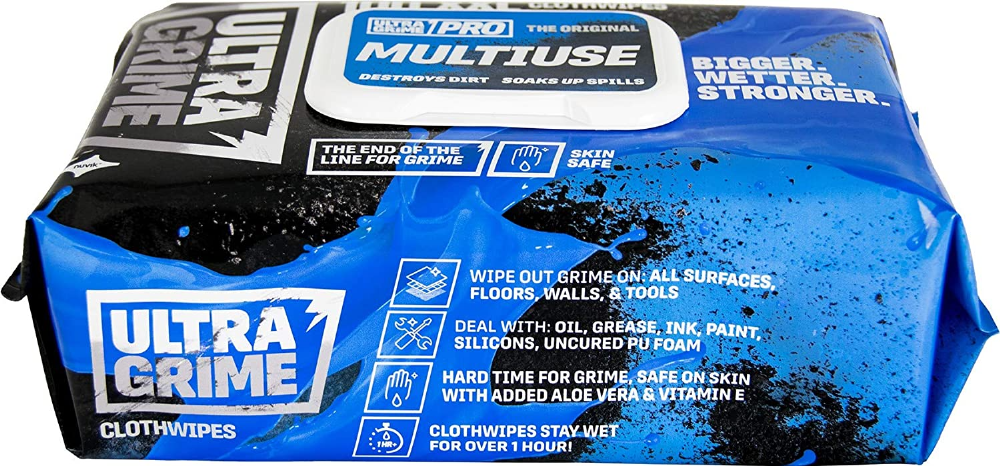 Uniwipe Ultragrime Oversize Wipes